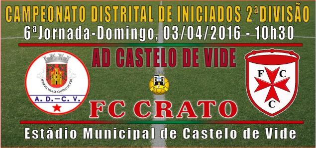 CAMPEONATO DISTRITAL DE INICIADOS 2015-2016